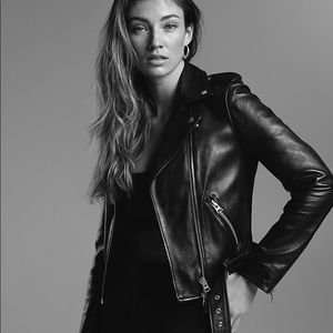 Wilfred Free real leather jacket